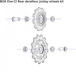 Galets de dérailleur BOX COMPONENTS One G1