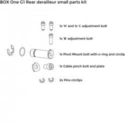 Kit vis de dérailleur BOX COMPONENTS One G1