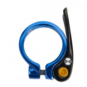 Collier de selle BOX COMPONENTS Helix QR 34.9 Bleu