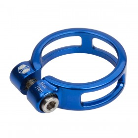Collier de selle BOX COMPONENTS Helix fixed 34.9 Bleu