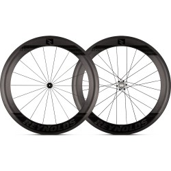 Roues REYNOLDS 65 AERO Tubeless Patins Campagnolo 18/24 (la paire)