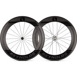Roues REYNOLDS 80 AERO Tubeless Patins Shimano 18/24 (la paire)