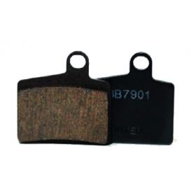 Plaquettes HAYES Dyno/Radar/Stroker Ryde semi-métalliques T122 (Sport)