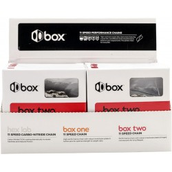 Chaînes BOX COMPONENTS One 11 vitesses 116 maillons chrome (par 12)