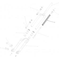 Ressort MANITOU Circus/Match Comp 80/100 mm Soft (50-70 Kg)