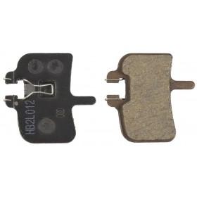 Plaquettes HAYES HFX-9/HFX-Mag/MX-1 semi-métalliques G2
