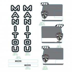 Stickers MANITOU Mezzer Pro