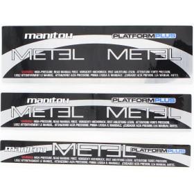 Kit stickers MANITOU Metel