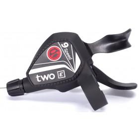 Manette de dérailleur BOX COMPONENTS Two E-Bike Twin 9 vitesses Noir
