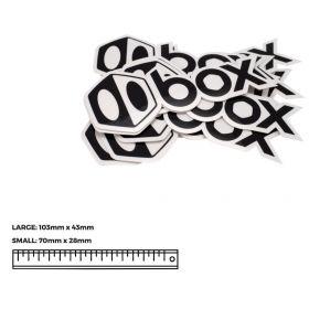 BOX COMPONENTS Sticker Icon & Text small