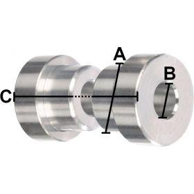 Entretoises d'amortisseur MANITOU 12.7 x 8.0 x 36.8 mm